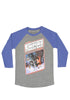STAR WARS Out Of Print: The Empire Strikes Back Book Cover Raglan T-Shirt