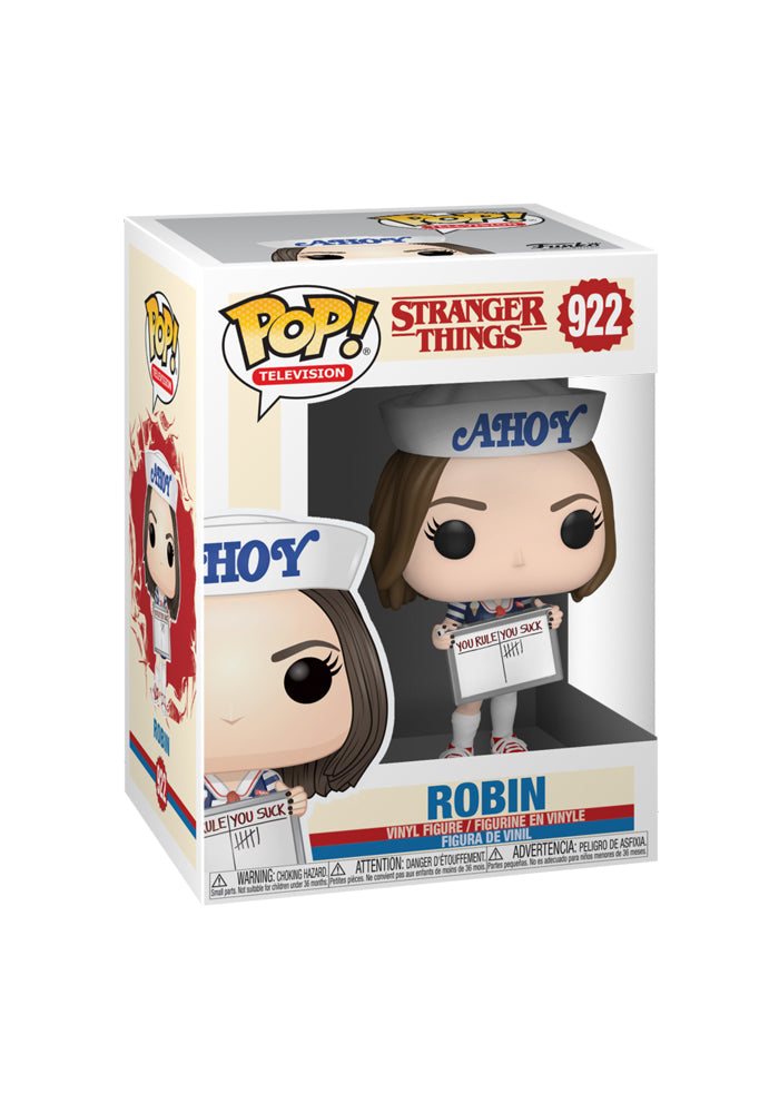 STRANGER THINGS Funko Pop! TV: Stranger Things - Robin (Scoops Ahoy)