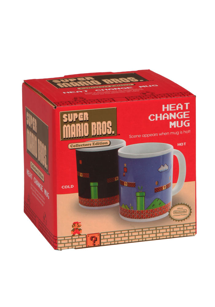 SUPER MARIO BROS Level Screen Heat Changing Mug