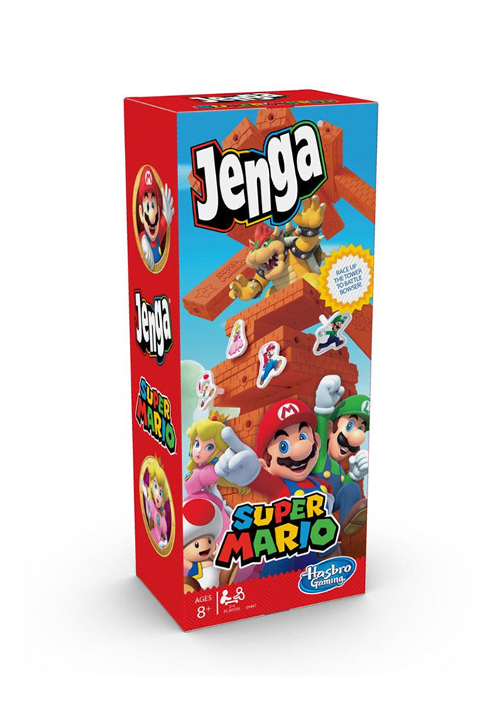 SUPER MARIO BROS Jenga: Super Mario Edition Game