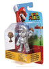 SUPER MARIO BROS World of Nintendo 4-Inch Action Figure - Metal Mario