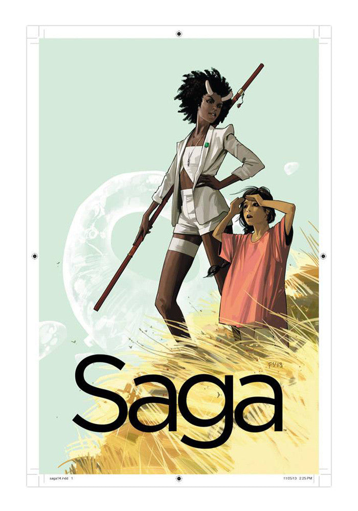 IMAGE COMICS Saga Volume 3 Graphic Novel