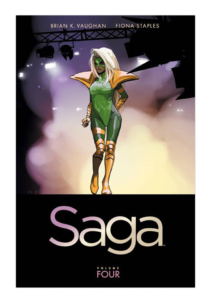 IMAGE COMICS Saga Volume 4 Graphic Novel