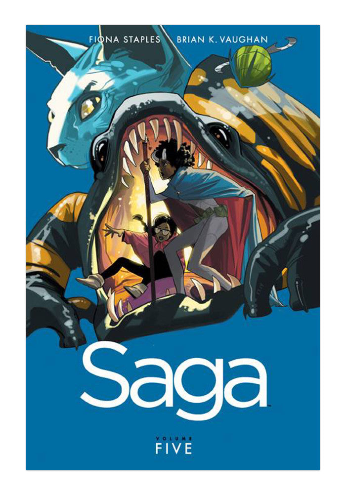 IMAGE COMICS Saga Volume 5 Graphic Novel