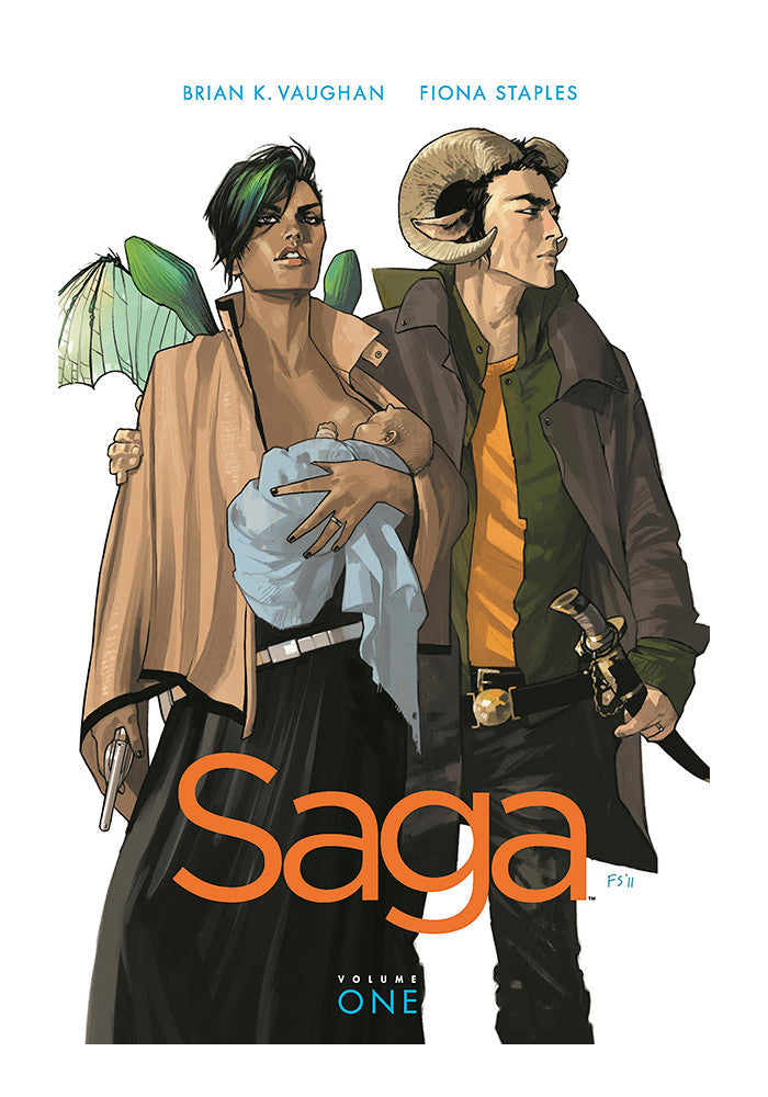 IMAGE COMICS Saga Volume 1 Graphic Novel