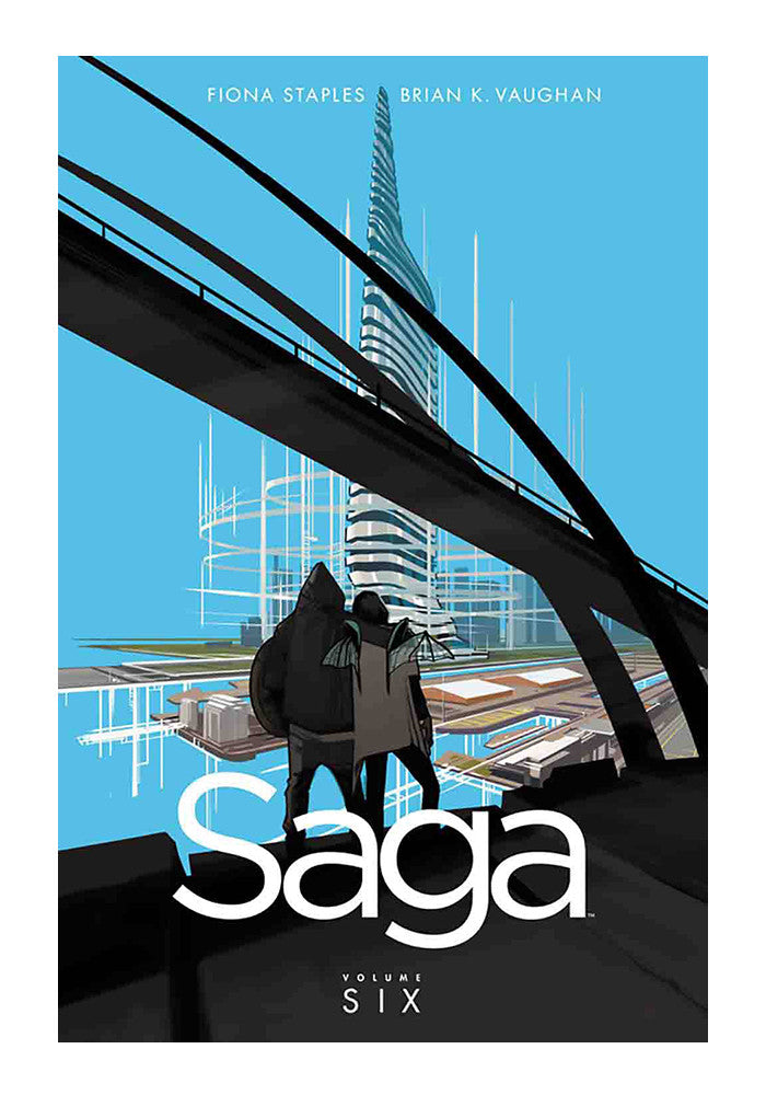 IMAGE COMICS Saga Volume 6 Graphic Novel