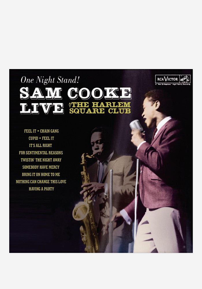 SAM COOKE Live At The Harlem Square LP