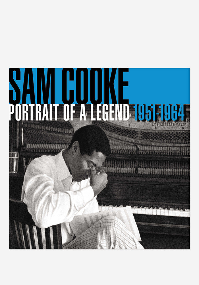 SAM COOKE Portrait Of A Legend 2 LP