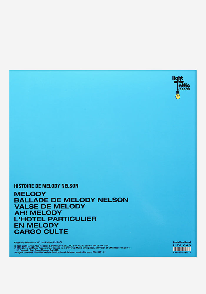SERGE GAINSBOURG Histoire De Melody Nelson Exclusive LP