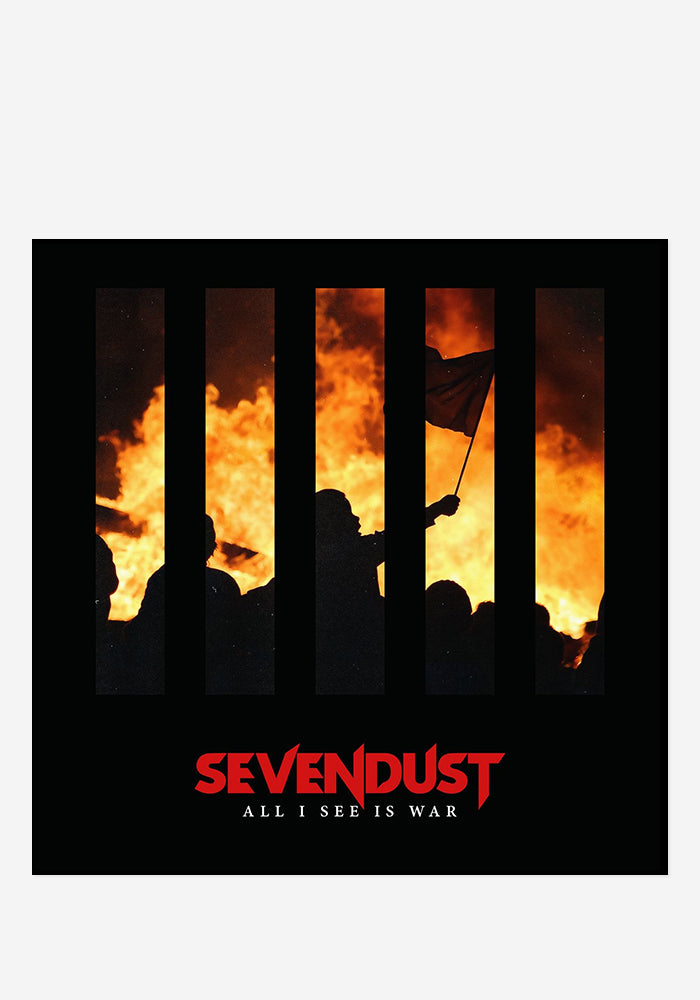 SEVENDUST All I See Is War With Autographed CD Booklet