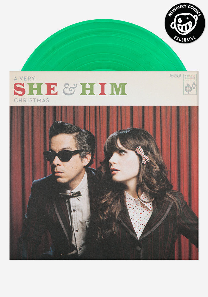She And Him Christmas.A Very She Him Christmas Exclusive Lp