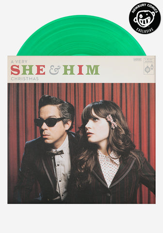 A Very She & Him Christmas Exclusive LP