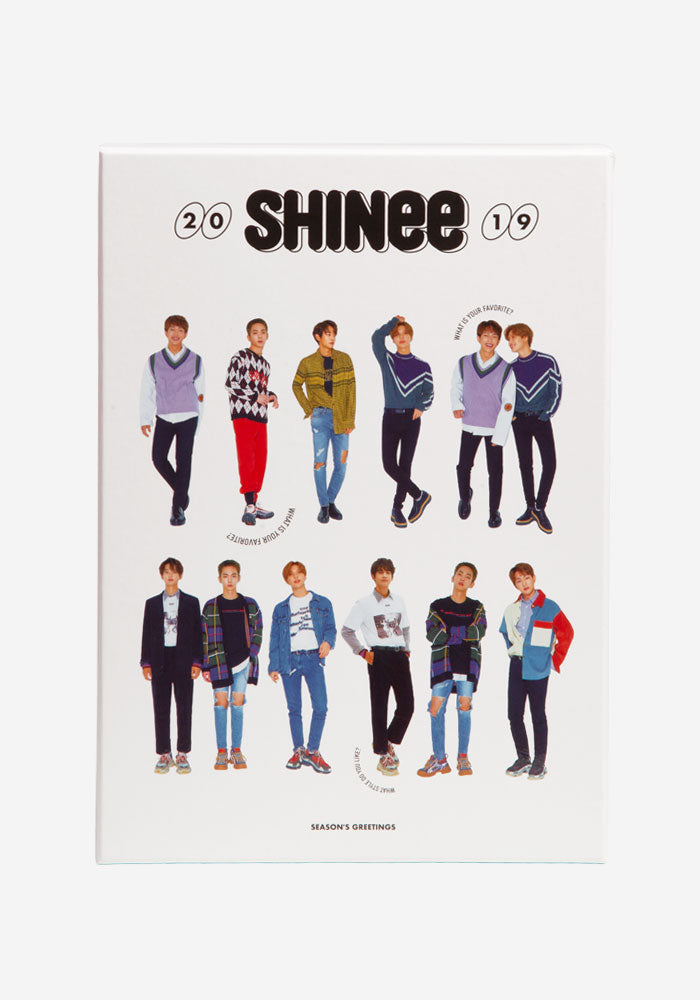 SHINEE SHINee Season's Greetings 2019 Box Set