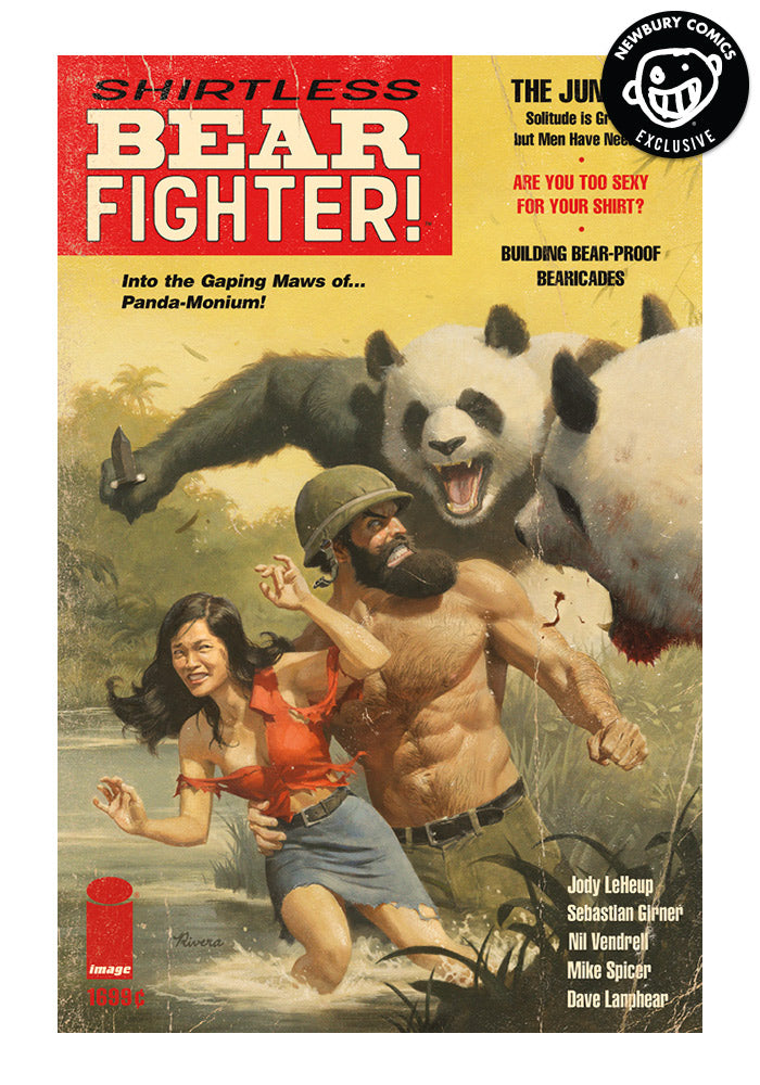 IMAGE COMICS Shirtless Bear-Fighter! Exclusive Variant Graphic Novel