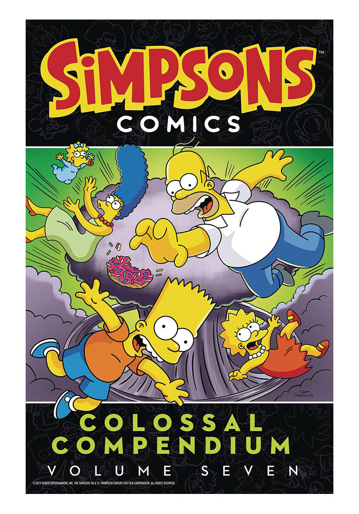 HARPER DESIGN Simpsons Comics Colossal Compendium Vol 7 Graphic Novel