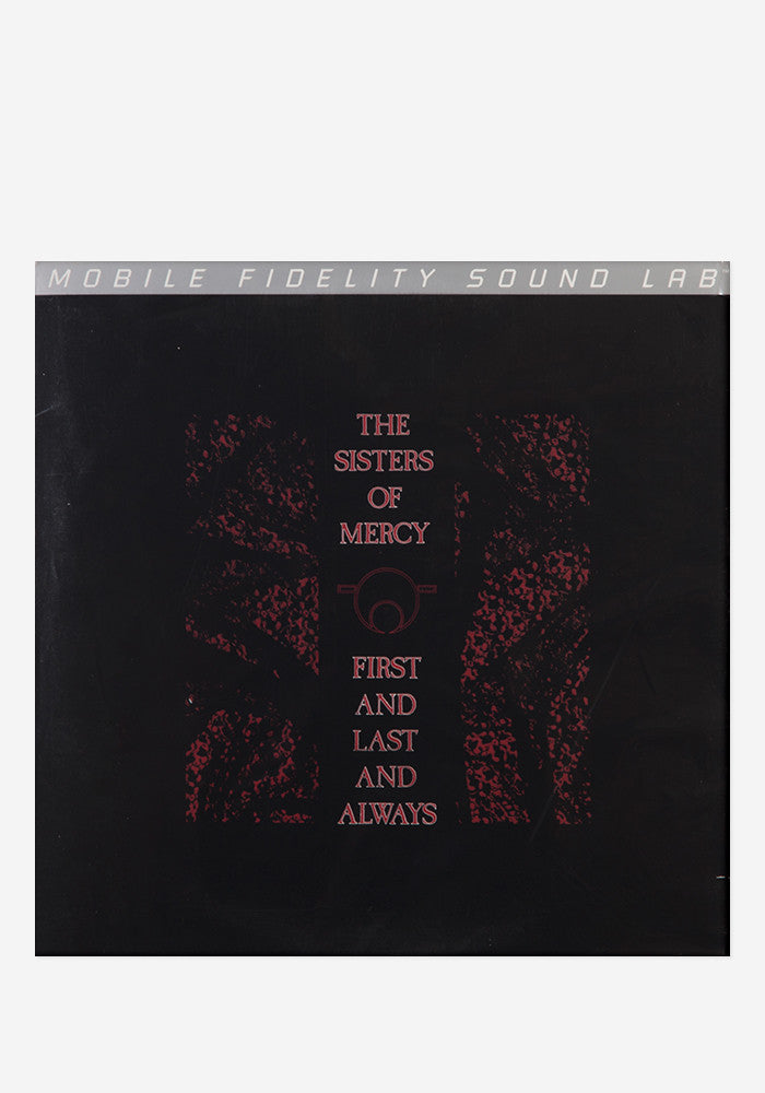SISTERS OF MERCY First And Last And Always Limited Edition LP
