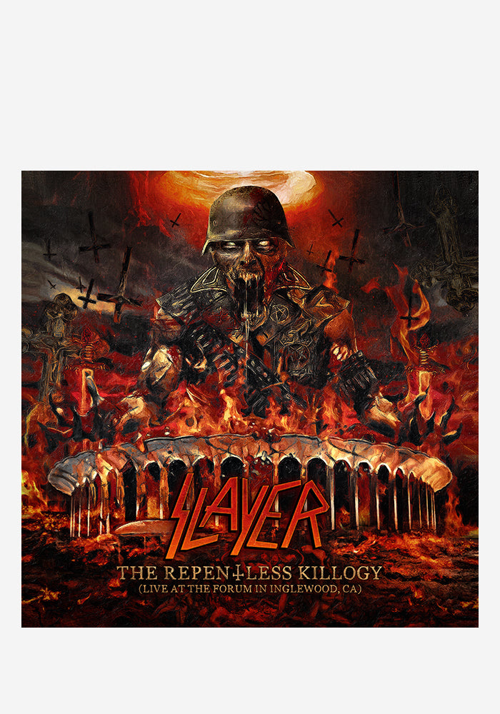 SLAYER The Repentless Killogy: Live At The Forum In Inglewood, CA 2LP (Color)