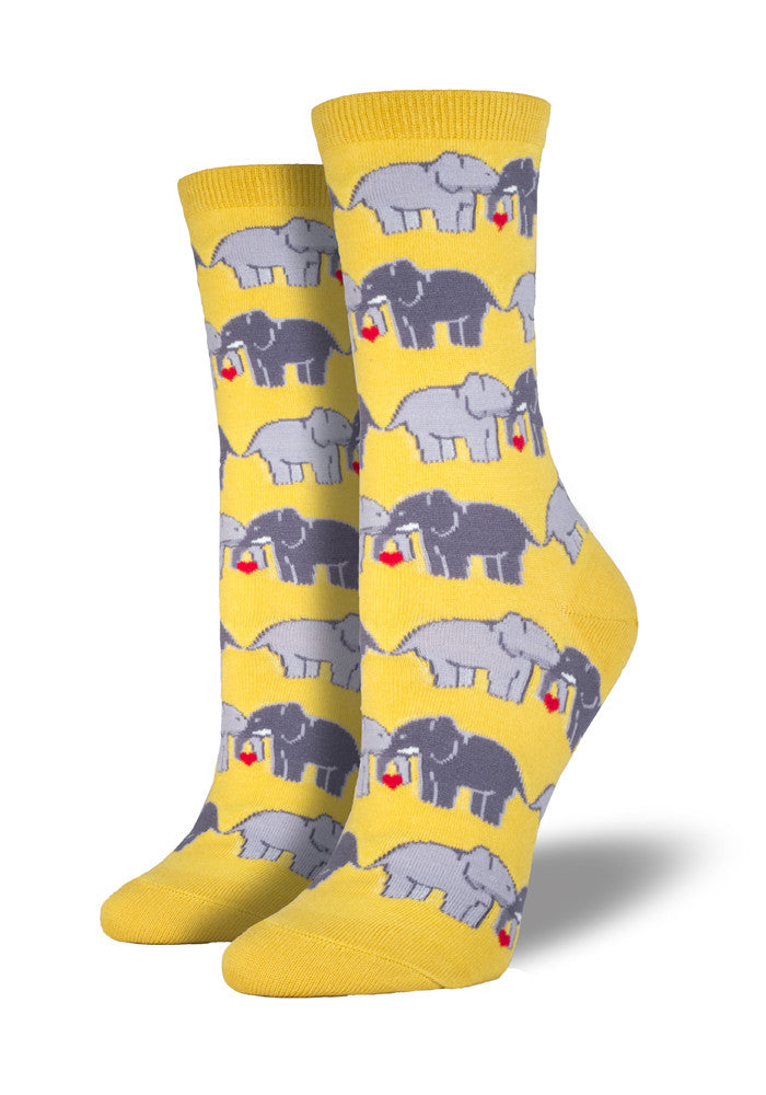 SOCKSMITH Elephants In Love Socks