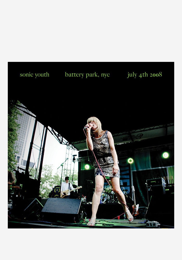 SONIC YOUTH Live At Battery Park, NYC: July 4th 2008 LP