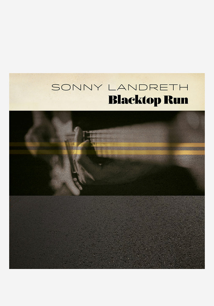 SONNY LANDRETH Blacktop Run CD (Autographed)
