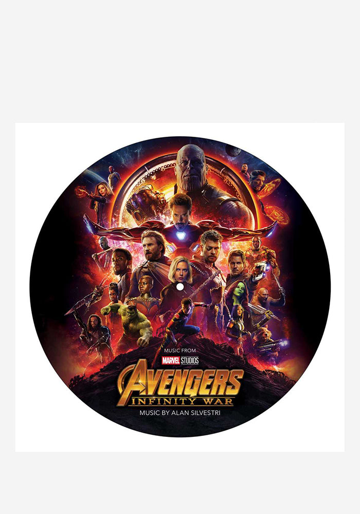 ALAN SYLVESTRI Soundtrack - Avengers: Infinity War LP (Picture Disc)