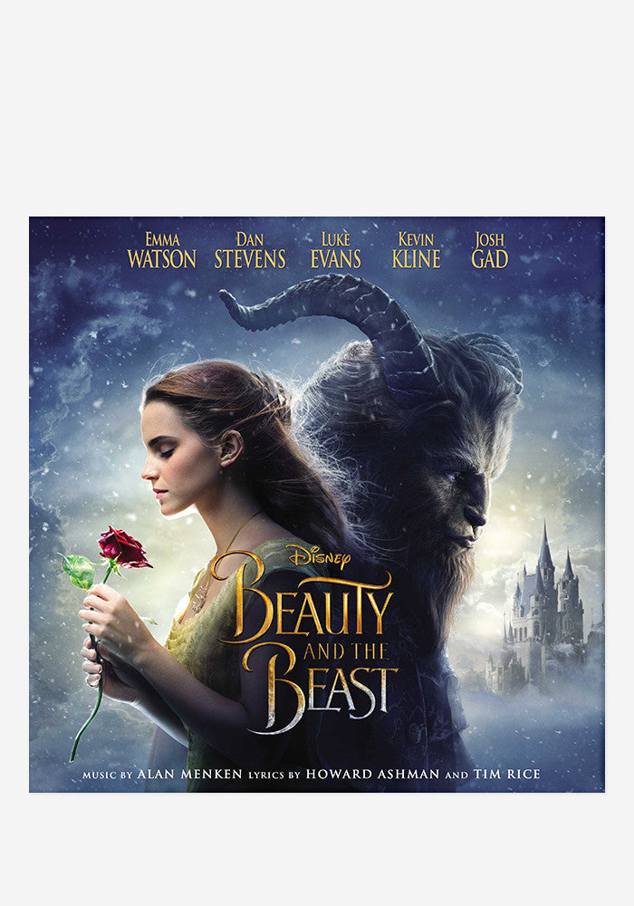 VARIOUS ARTISTS Soundtrack - Beauty And The Beast LP (Color)