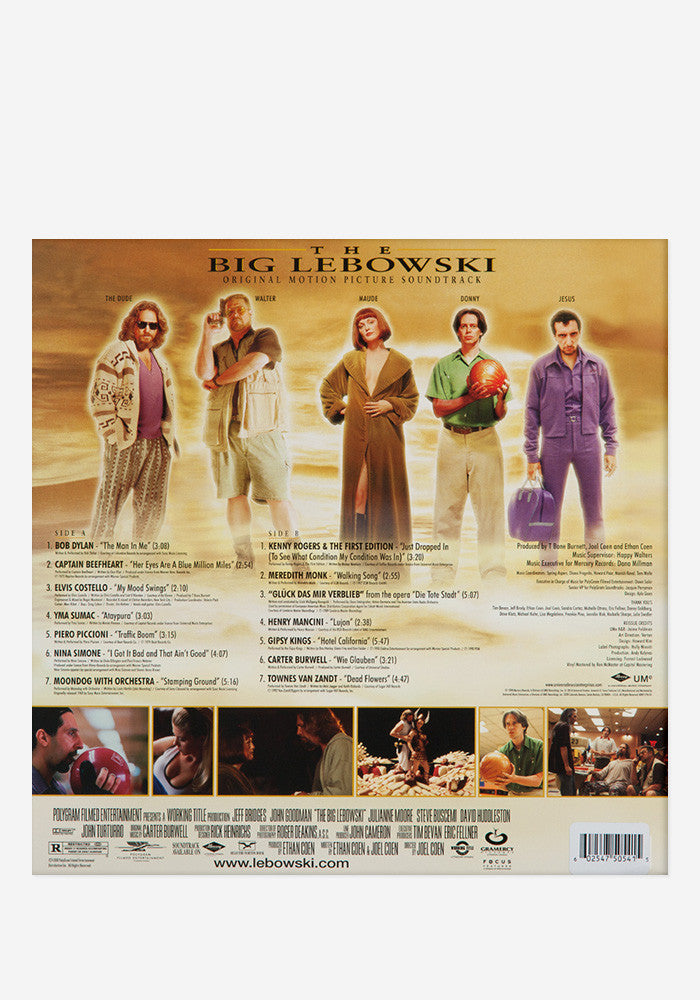 VARIOUS ARTISTS Soundtrack - The Big Lebowski Exclusive LP