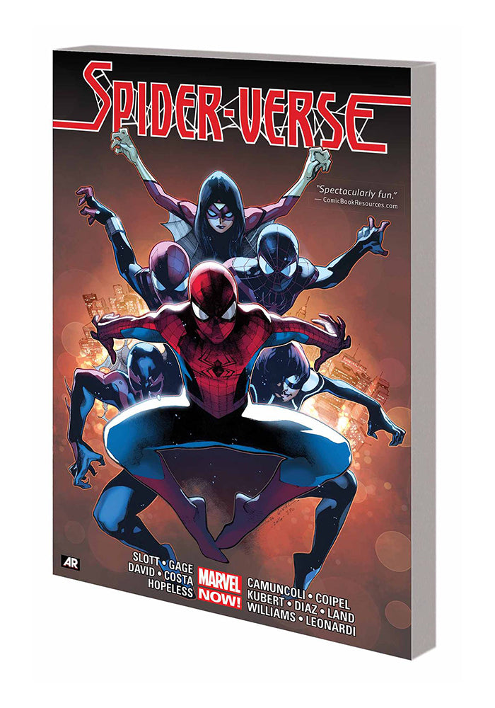 MARVEL COMICS Spider-Verse Graphic Novel