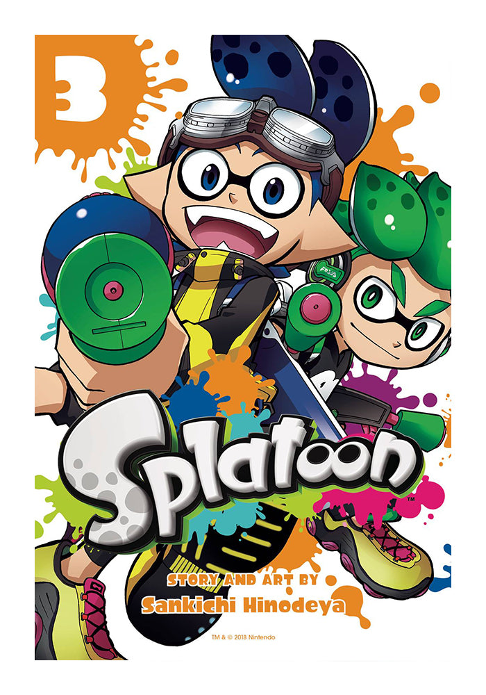 VIZ MEDIA Splatoon Vol 1 Manga