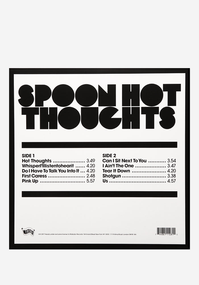 SPOON Hot Thoughts Exclusive LP