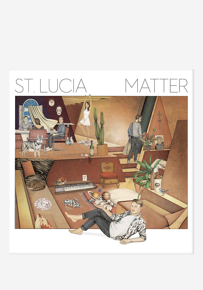 ST LUCIA Matter With Autographed CD Booklet