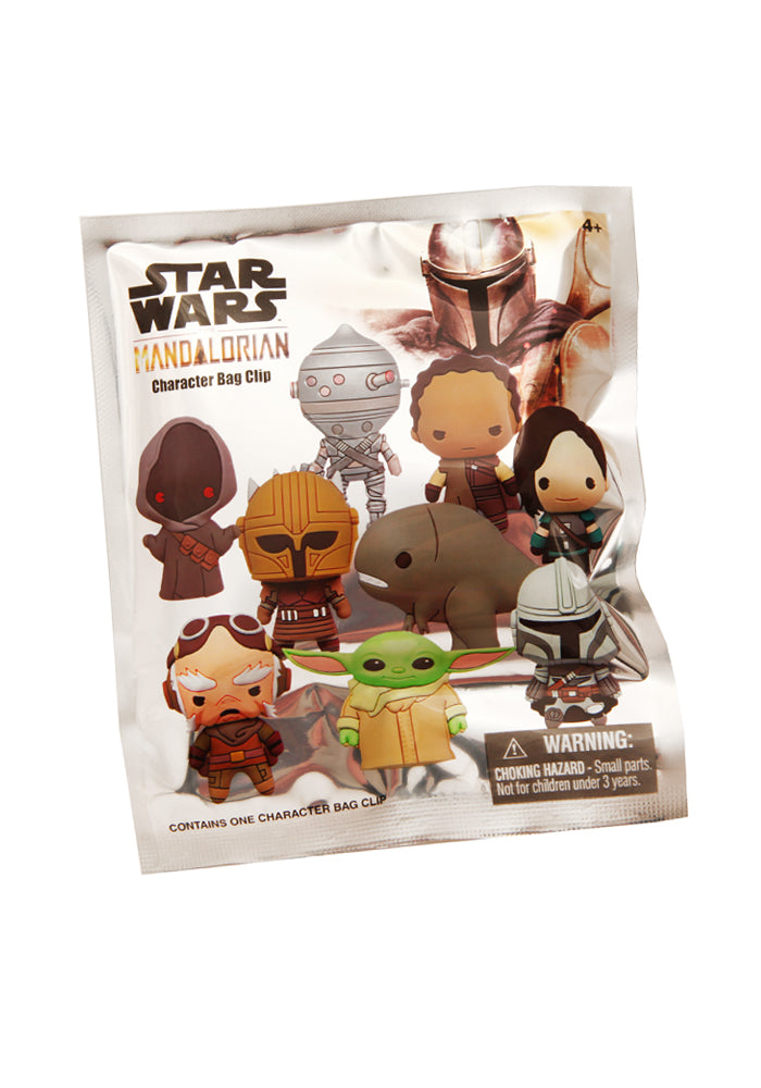 STAR WARS The Mandalorian 3D Foam Character Bag Clip Blind Bag