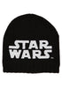STAR WARS Glow In The Dark Logo Exclusive Black Knit Beanie