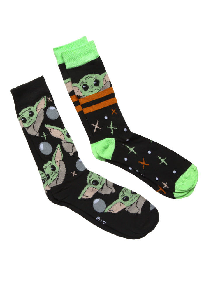STAR WARS The Mandalorian Star Child Socks 2-Pack