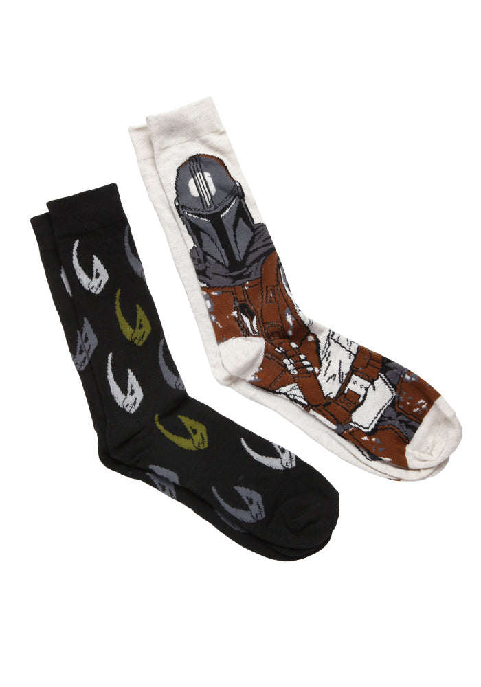 STAR WARS The Mandalorian Logo Socks 2-Pack