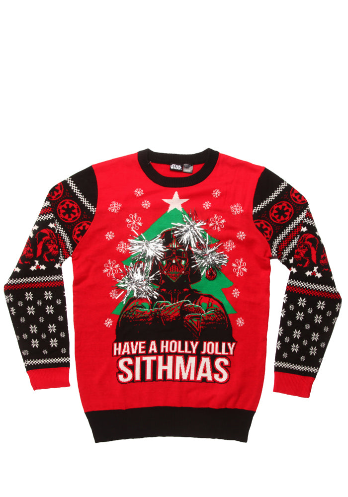 STAR WARS Have A Holly Jolly Sithmas Tinsel Sweater