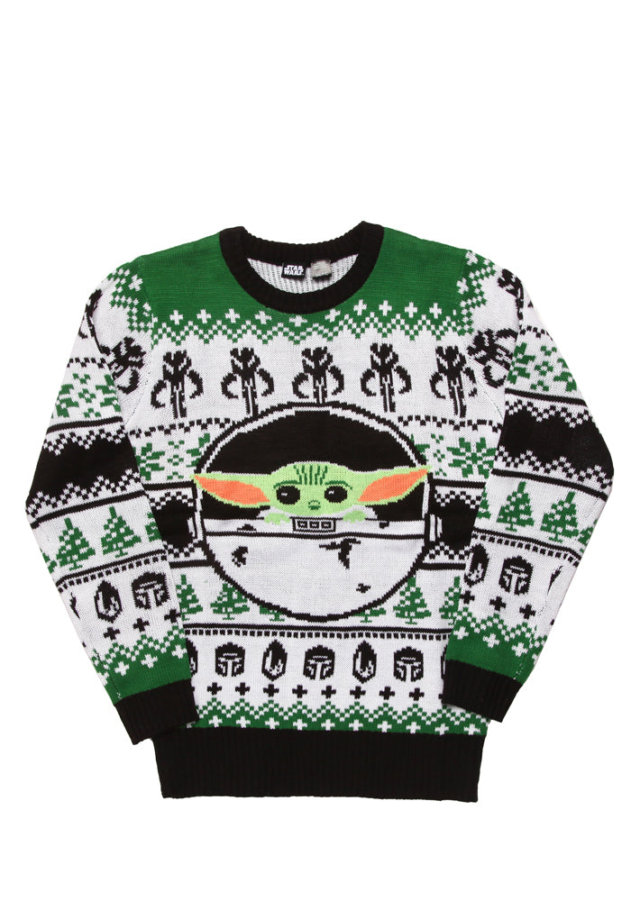 STAR WARS The Mandalorian The Child Holiday Sweater