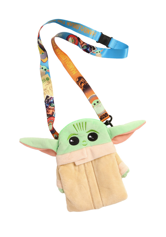 STAR WARS The Mandalorian Grogu Lanyard With Plush Charm