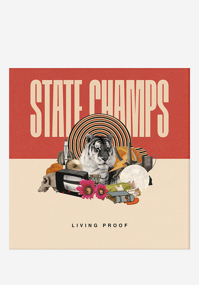 STATE CHAMPS Living Proof With Autographed CD Booklet