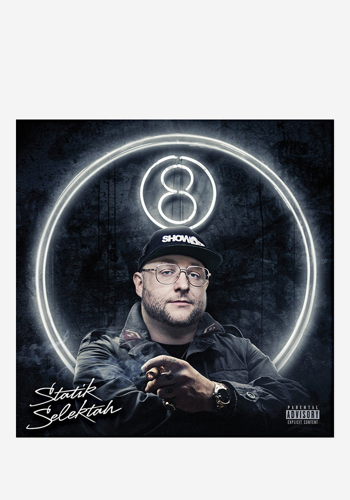 STATIK SELEKTAH 8 With Autographed CD Booklet