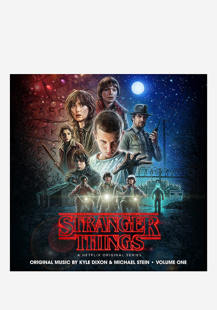 KYLE DIXON / MICHAEL STEIN Soundtrack - Stranger Things Vol. 1 2 LP