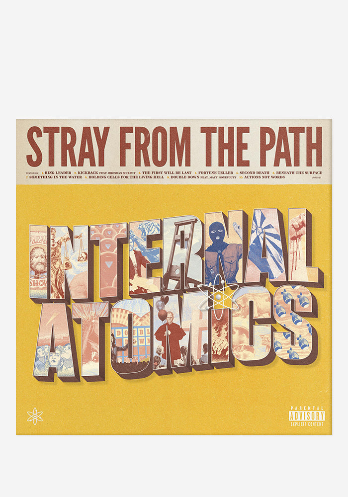 STRAY FROM THE PATH Internal Atomics CD (Autographed)