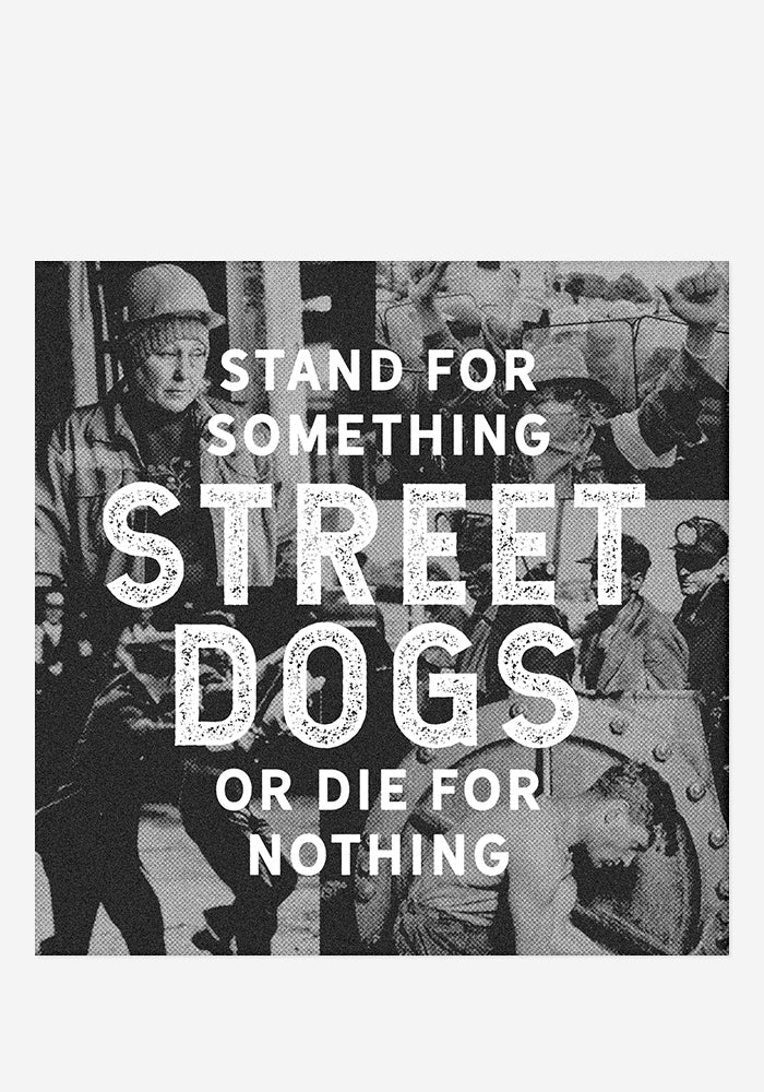 STREET DOGS Stand For Something Or Die For Nothing CD With Autographed Postcard