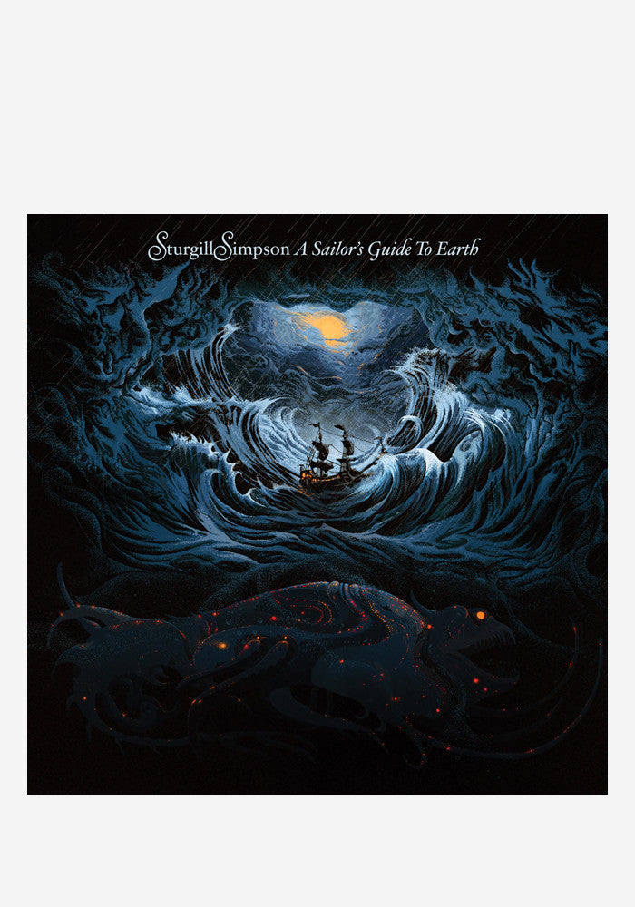 STURGILL SIMPSON A Sailor's Guide To Earth LP+CD