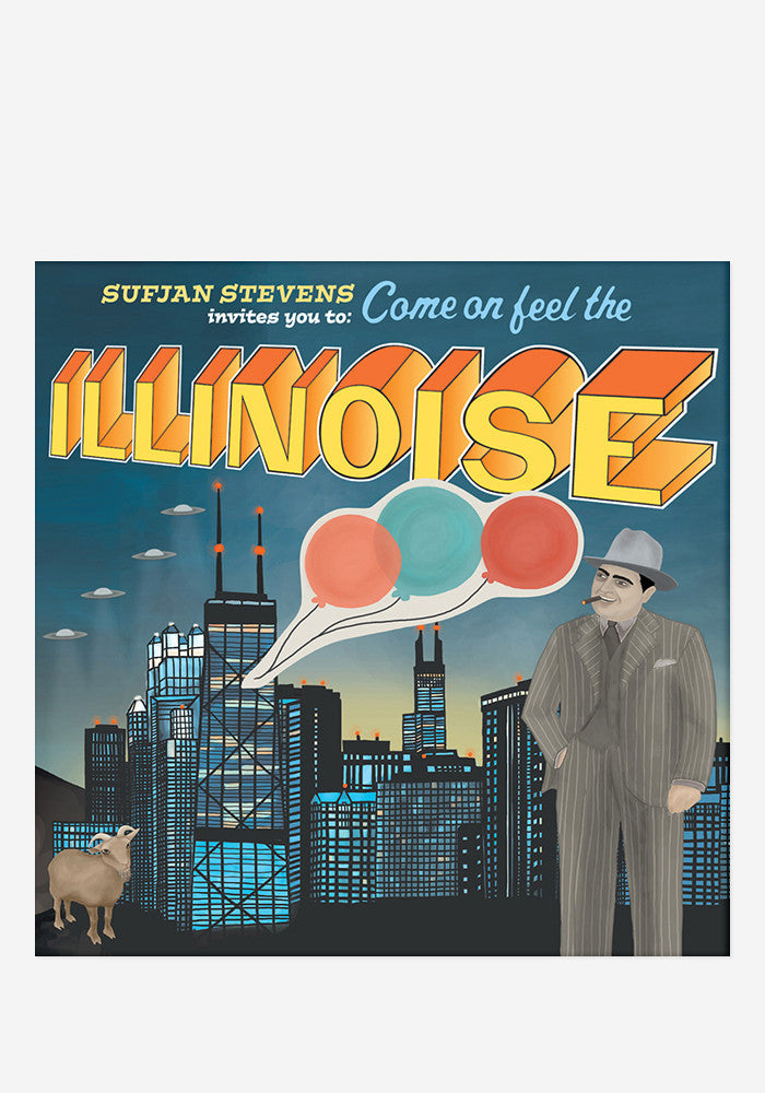 SUFJAN STEVENS Illinois 2 LP