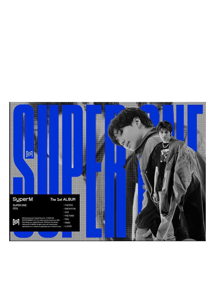 "SUPERM SuperM The First Album ""Super One"" CD (Unit A Version)"
