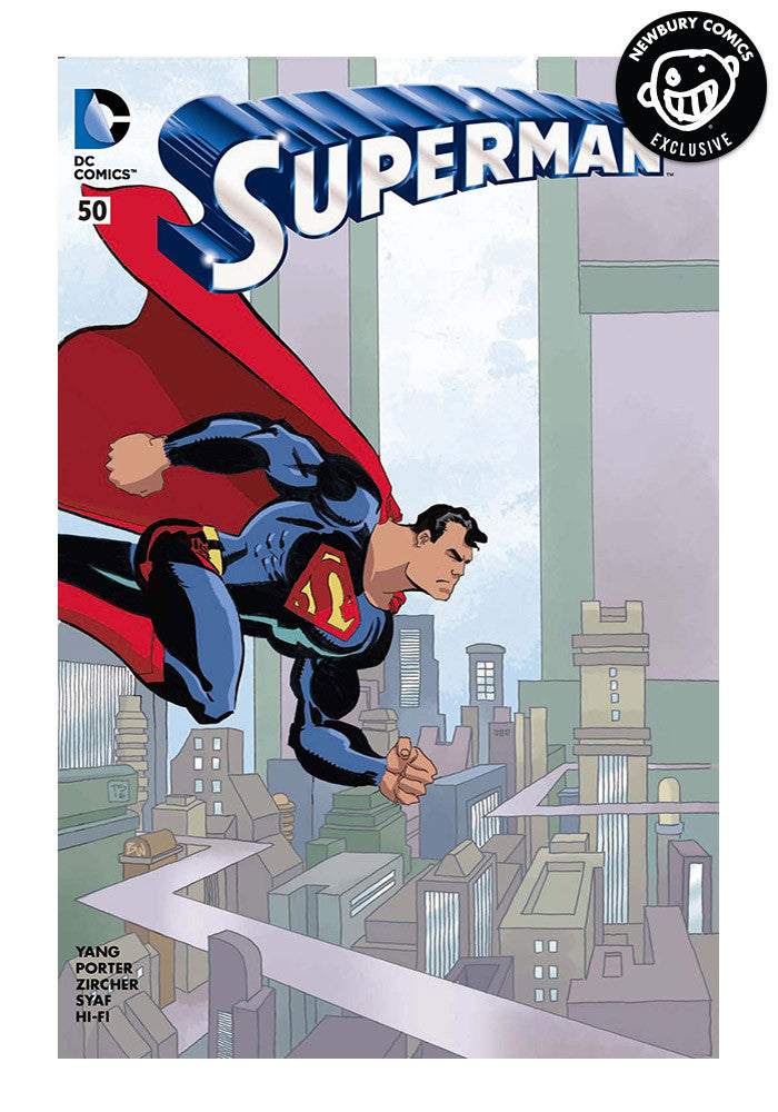 DC COMICS Superman #50 Tim Sale Variant Comic (Color)