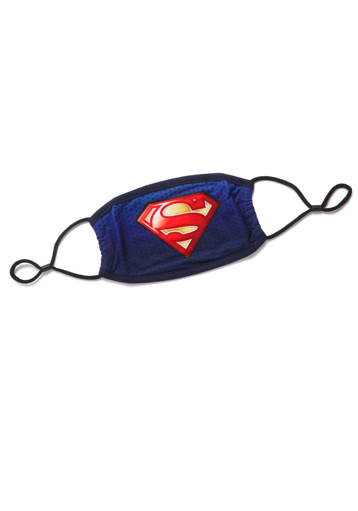 SUPERMAN DC Comics Superman Logo Face Mask