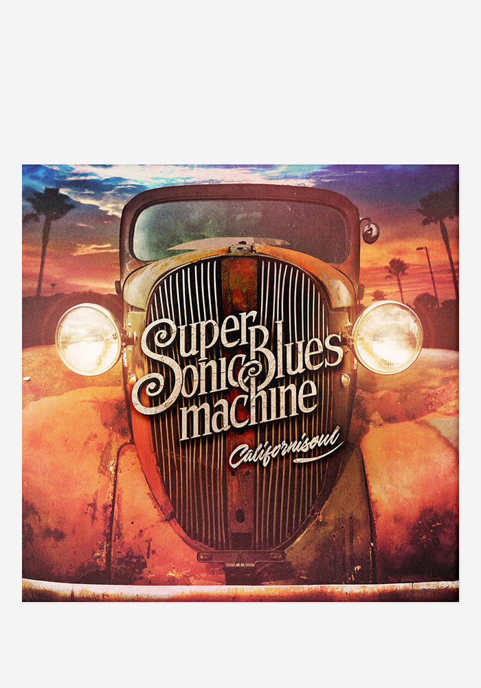 SUPERSONIC BLUES MACHINE Californiasoul With Autographed CD Booklet