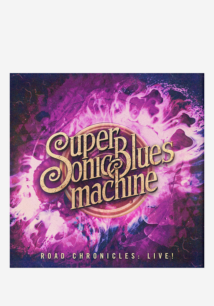 SUPERSONIC BLUES MACHINE Road Chronicles: Live! CD With Autographed Postcard